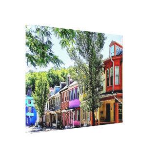 Lienzo PA de Jim Thorpe - calle pintoresca