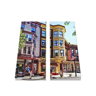 Lienzo PA de Jim Thorpe - tiendas a lo largo de Broadway