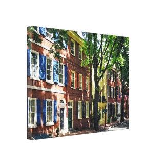 Lienzo PA de Philadelphia - Sociedad Hill Street