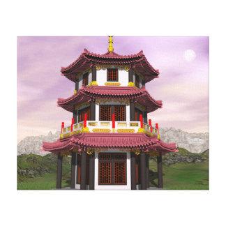 Lienzo Pagoda - 3D rinden