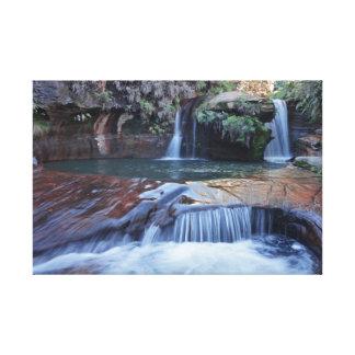 Lienzo Paisajes brasileños de TerraSub - cascadas 1 de MG