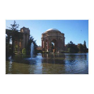 Lienzo Palacio de San Francisco de la lona de las bellas