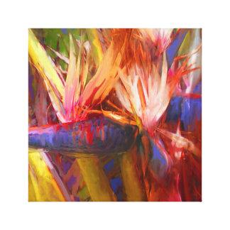 Lienzo Palma que pinta 01