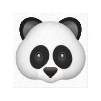 Lienzo Panda - Emoji