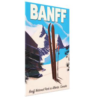 Lienzo Parque nacional de Banff en Alberta, Canadá
