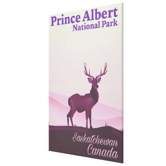 Lienzo Parque nacional del Príncipe Alberto,