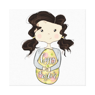 Lienzo Pascua feliz