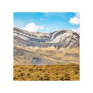 Lienzo Patagonia la Argentina de las montañas Nevado los