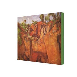 Lienzo Paul Cezanne Steinbruch Bibemus