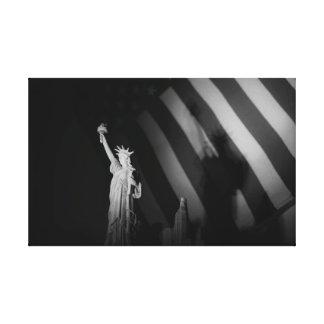 Lienzo Pequeña señora Liberty