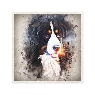 Lienzo Perro, perro san bernardo - Saint Bernard Dog