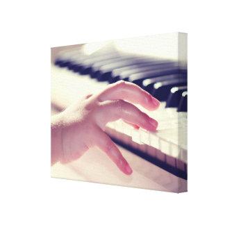 Lienzo Piano del juego