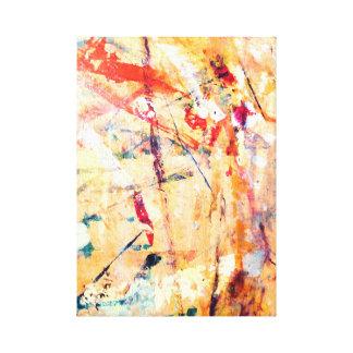 Lienzo Pintado a mano moderno abstracto