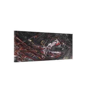 Lienzo Pintura abstracta del elemento