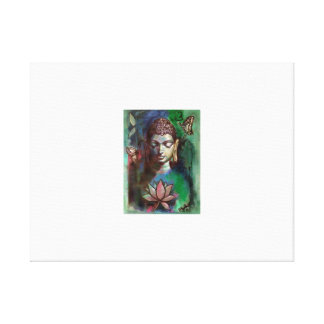 Lienzo Pintura de Buda