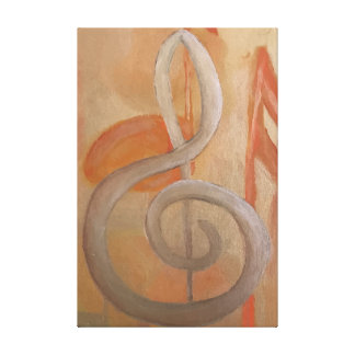 Lienzo Pintura de la armonía