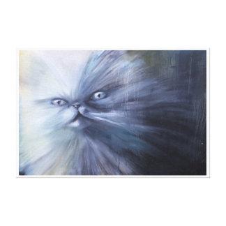 Lienzo Pintura del gato persa