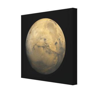 Lienzo Planeta Marte en la Sistema Solar NASA