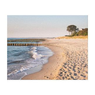 Lienzo Playa de Ahrenshoop