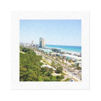 Lienzo Playa de ciudad de Panamá