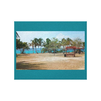 Lienzo Playa Giron, Cuba - Punta Perdiz