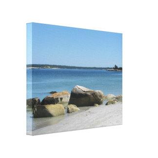 Lienzo Playa Nueva Escocia de Carter's de la lona