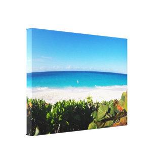 Lienzo Playa tropical