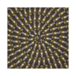 Lienzo Princesa egipcia Abstract Spiral Pattern,
