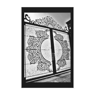 Lienzo Puerta magnífica