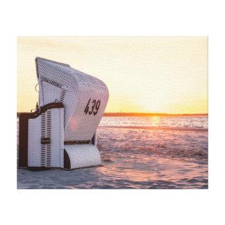 Lienzo Puesta del sol de Ostsee
