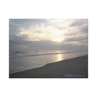 Lienzo Puesta del sol del verano de Carolina del