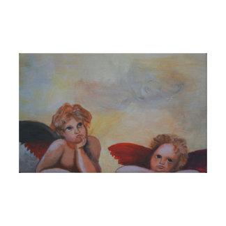 Lienzo Raffaels ángel