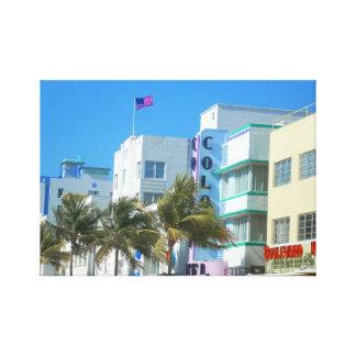 Lienzo Recepción de Miami
