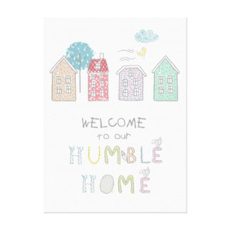 Lienzo Recepción humilde ID372 del hogar