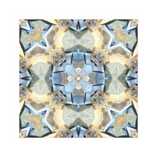 Lienzo Reflexiones del azul y del oro