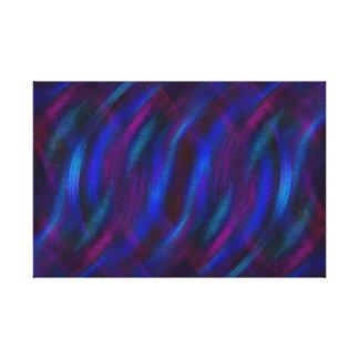 Lienzo Reflexiones en azul