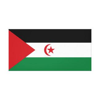 Lienzo República Democratic árabe de Sahrawi