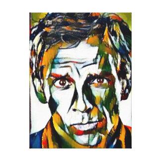 Lienzo Retrato del aceite de Ben Stiller