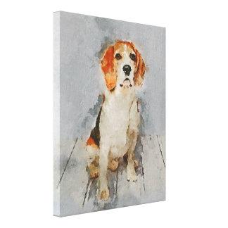 Lienzo Retrato lindo del beagle