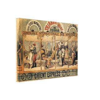 Lienzo Revista musical expresa París de 1896 Oriente