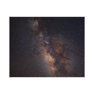 Lienzo Río celestial #2