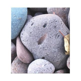 Lienzo Roca sonriente en lona
