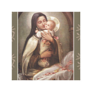Lienzo Rosas del rosa del pesebre de Jesús del bebé del
