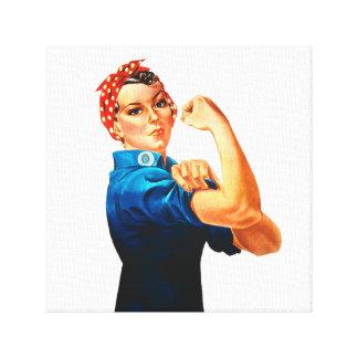 Lienzo Rosie el poster del remachador WWII