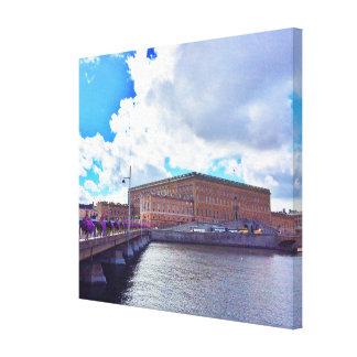Lienzo Royal Palace en Estocolmo