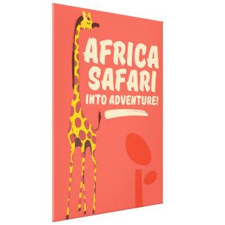 Lienzo ¡Safari de África en aventura!