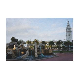Lienzo San Francisco la lona de Embarcadero