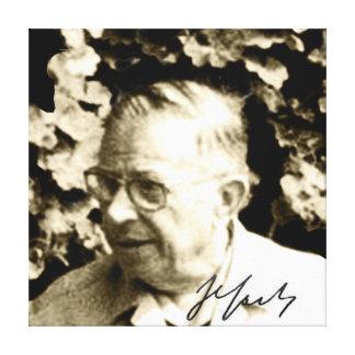 Lienzo Sartre