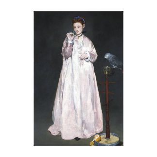 Lienzo Señora joven de Édouard Manet en 1866