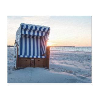 Lienzo Silla de playa